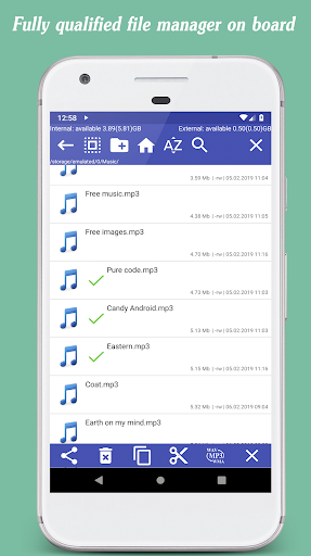 Invenio Music Player + Music Editor & Equalizer screenshot 5