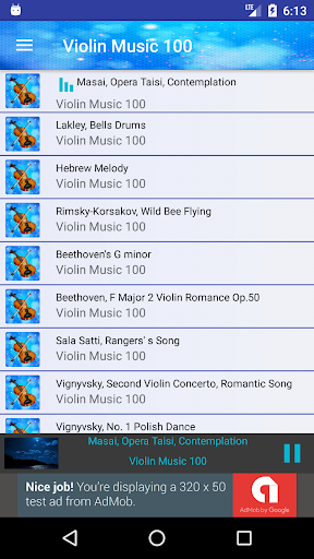 Violin Music Collection 100 1.4.1 screenshots 2