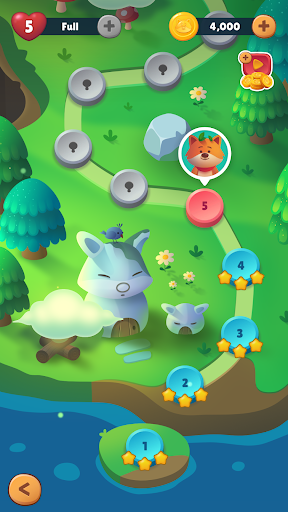 Bubble Animals Fox - Ultimate Bubble Shooter android2mod screenshots 2