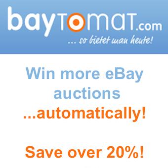 Auction bid sniper for eBay
