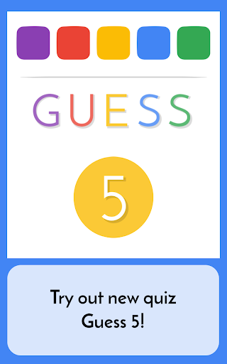 Guess 5 - Words Quiz screenshot