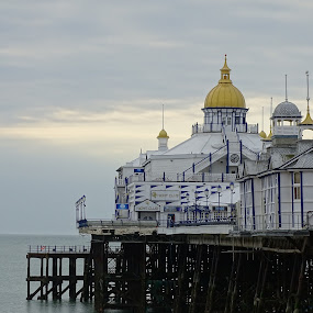 Pier, Eastbourne, UK. by Ramade Genevieve - Buildings & Architecture Other Exteriors (  )
