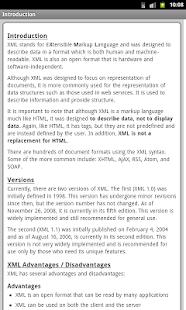 XML Pro Free - náhled