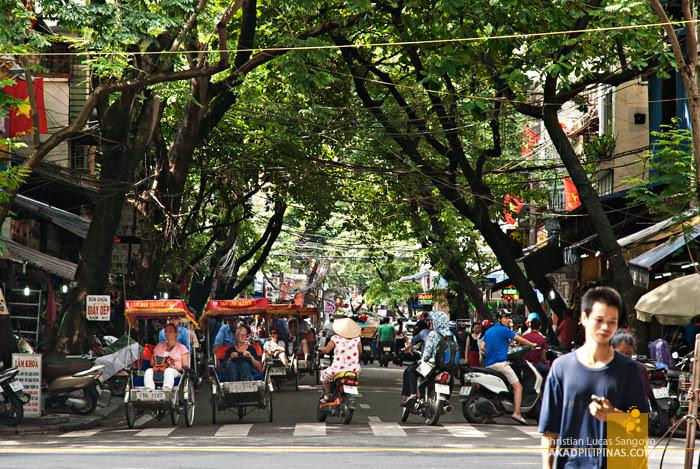 Shoe Street Hanoi Vietnam