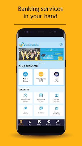 Canara Bank Mobile Banking for PC