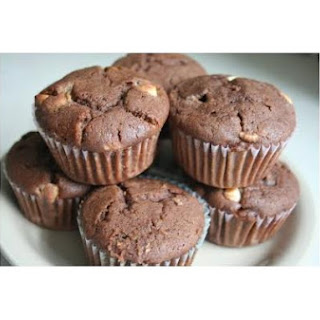 Quadruple Chocolate Muffins