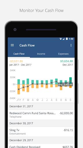 Personal Capital -Budgeting,Investing,Finance App  screenshots 2