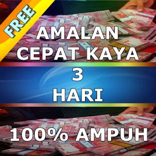 Amalan Cepat Kaya 3 Hari - náhled