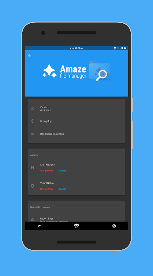 Amaze File Manager – Capture d'écran