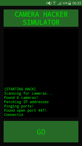 Camera Hacker Simulator PRO  screenshots 1