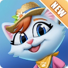 Kitty City: Help Cute Cats Build & Harvest Crops icon