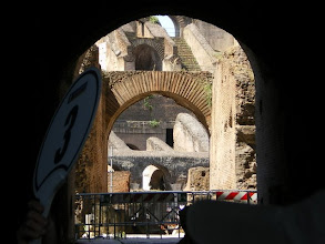 Photo: Looking into the Colosseum Arena
