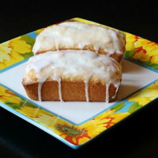 Easy Lemon Pound Cake.