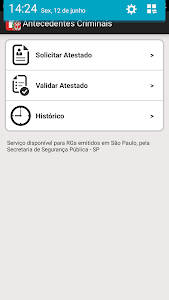 Atestado de Antecedentes screenshot 1