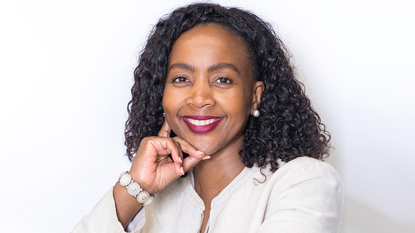 MTN SA executive for consumer business unit, Mapula Bodibe.