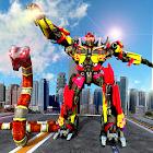 робот змея война город преобразование icon