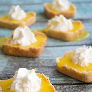 Mini Lemon Curd Tarts Recipe