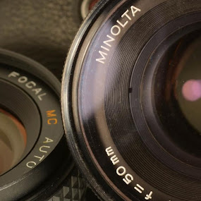 by H. Ava-Lyn Smith - Products & Objects Technology Objects ( film, minolta, camera )