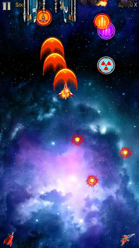 Ekstar Shooter game for Android screenshot