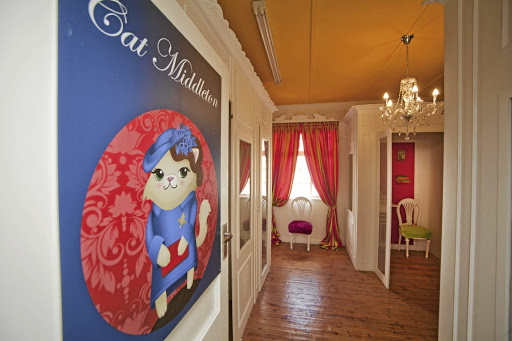 Speciality rooms for cats in one of the hotels include the Cat Middleton room.