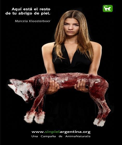 Resultado de imagen para campaña de famosos por los animales