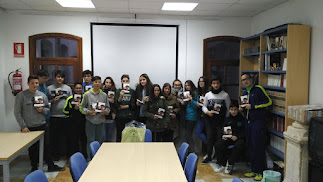 Club de lectura de Purchena durante una actividad.