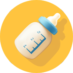 Baby Breastfeeding Tracker. Newborn Baby Care App
