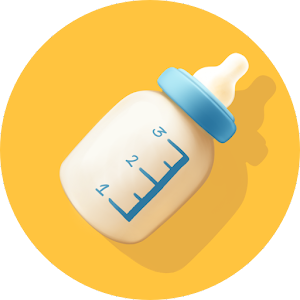 Baby Breastfeeding Tracker. Newborn Diary