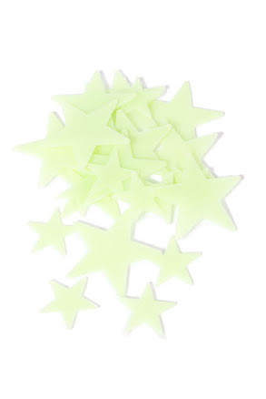 Självlysande stjärnor i box