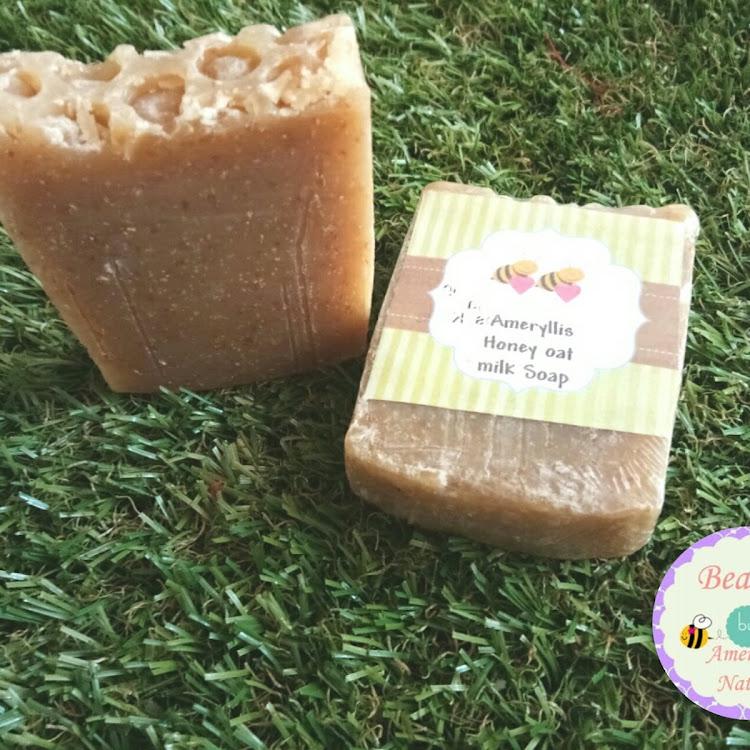 honey oatmilk soap ameryllis by ameryllis nature soap