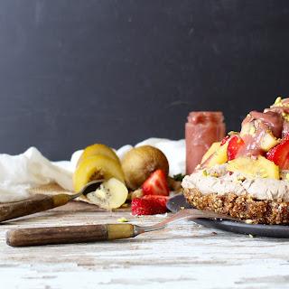 Raw Lemon Kiwi Coconut Cream Pie