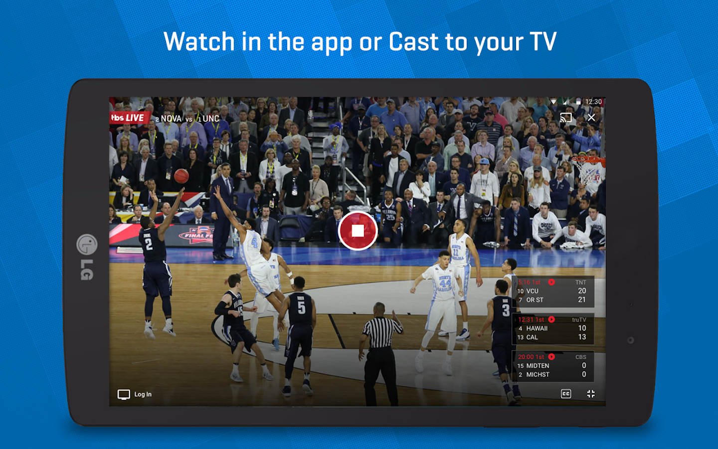 NCAA March Madness Live- screenshot
