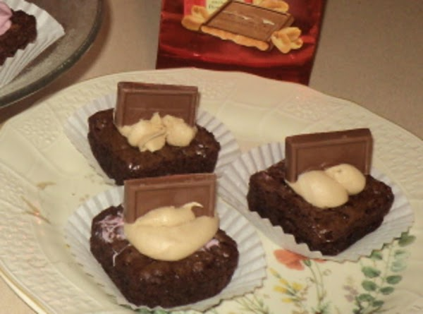 To make Peanut butter brownies...use Milk & Peanut Butter chocolate squares..following directions above. For...