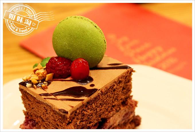 Afternoon Tea統一午茶時光覆盆莓櫻桃馬卡龍蛋糕1