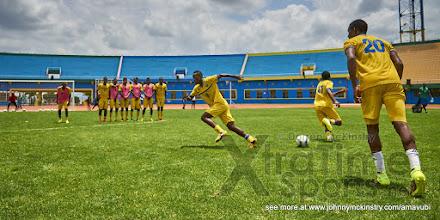 Photo: [Training Camp ahead of Rwanda v Mauritius, AFCON 2017 Qualifier, 27 March 2016 in Kigali, Rwanda.  Photo © Darren McKinstry 2016, www.XtraTimeSports.net]