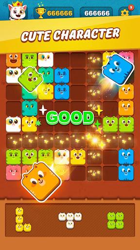 Block Crush™ - Cute Kitty Puzzle Game 1.2.2 screenshots 2