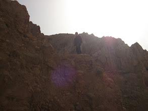 Photo: Climbing out of Nahal Prat...יציאה מנחל פרת