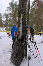 Photo: Лыжи - в мусор!