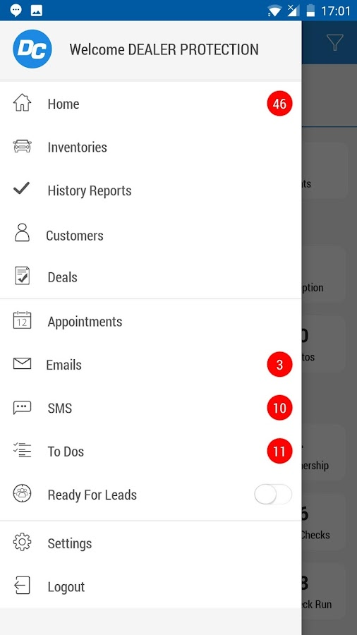 DealerCenter Mobile- screenshot