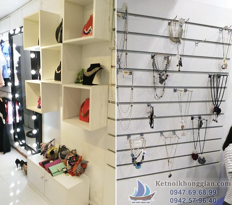 thiết kế shop thời trang Elsa, thi công shop thời trang nữ