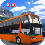 Bus off Road Driver Simulator Mountain Hill Icon