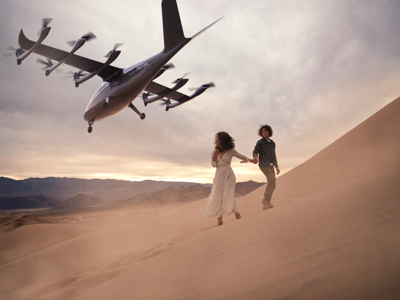Para decolar, carros voadores precisam de certificação de autoridades da aviação. (Fonte: Archer/Divulgação)