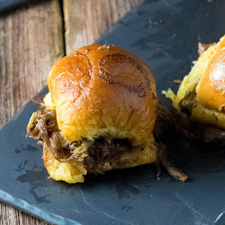 Baked Mississippi Roast Party Sandwiches Recipe