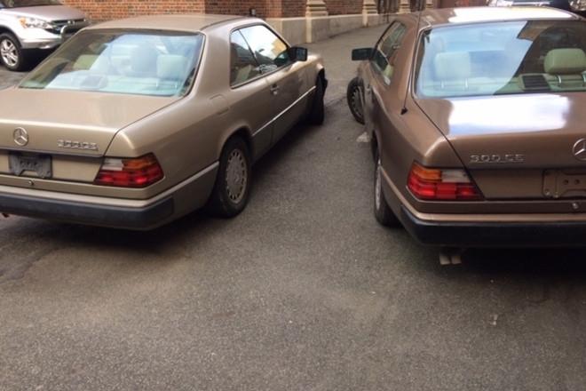 1989 & 1990 M/Benz E-Class 300ce Coups Hire NY