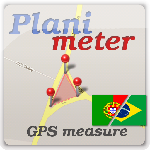 Planimeter medir áreas com GPS