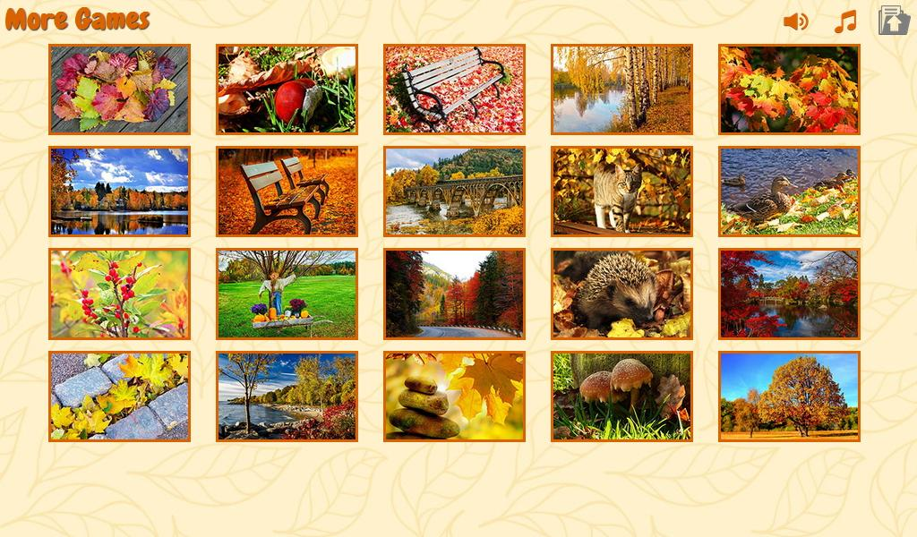 Puzzles autumn- screenshot