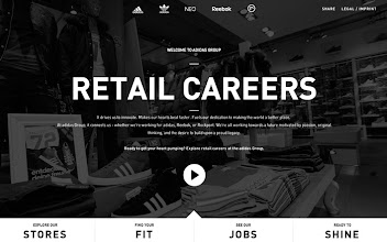Photo: Site of the Day 24 July 2013 http://www.awwwards.com/web-design-awards/adidas-retail-careers