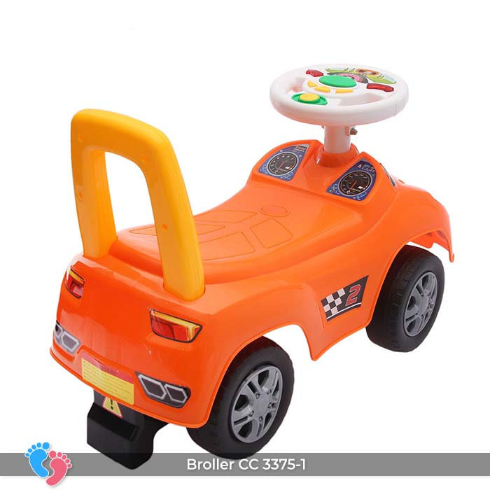 Xe ô tô chòi chân cho bé Broller CC-3375-1 có nhạc 12