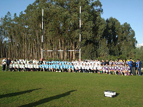 Photo: Seis atletas do Caldas Rugby Clube estiveram integradas na Seleção regional do Sul 1