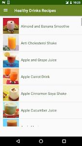 Healthy Drinks Recipes screenshot 1